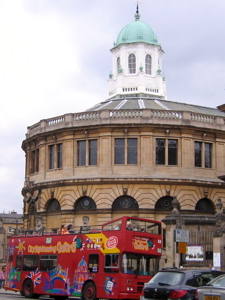 [An image showing Sheldonian Theatre]