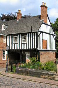 [An image showing John of Gaunts Cottage]