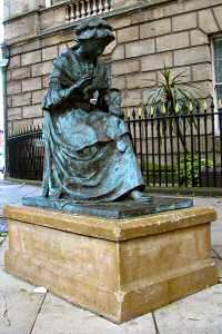 [An image showing The Seamstress Statue]