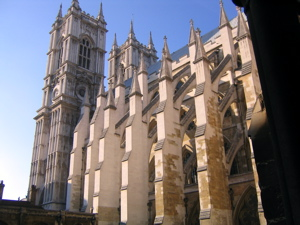 [An image showing Westminster Abbey]